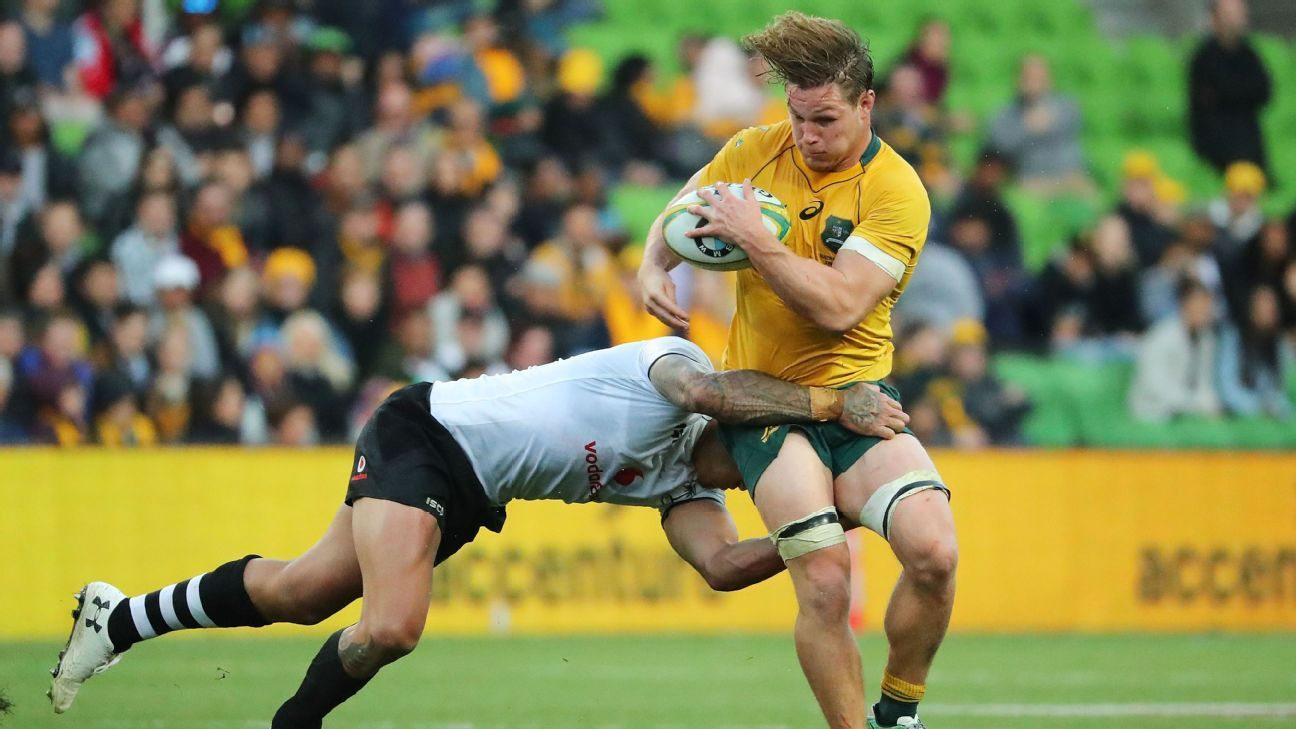 Australia with a confirmed squad to face France