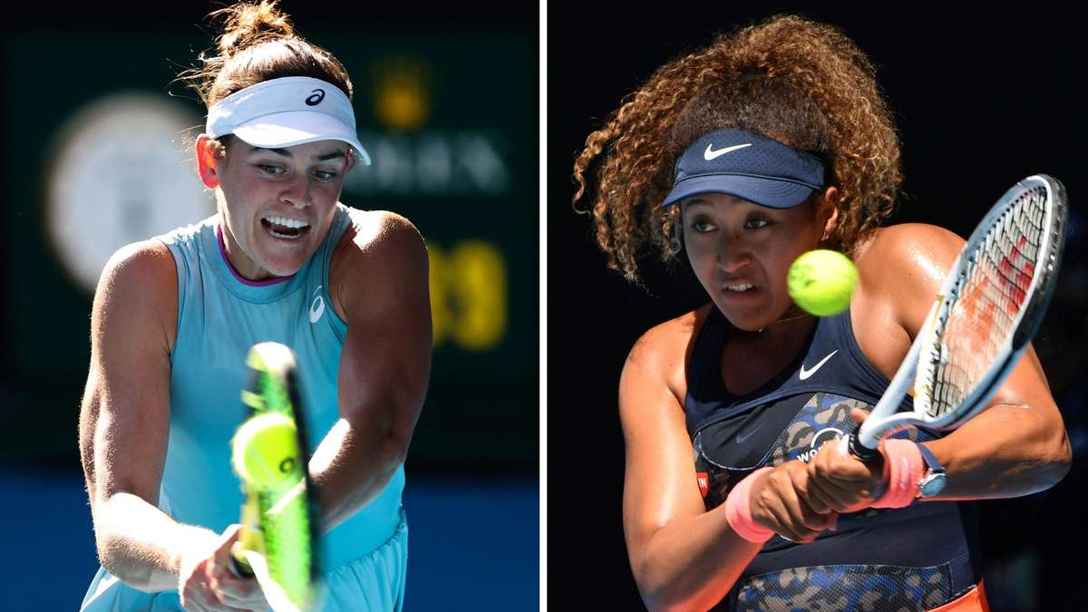 Australian Open: Naomi Osaka excels!  Brady's back too late