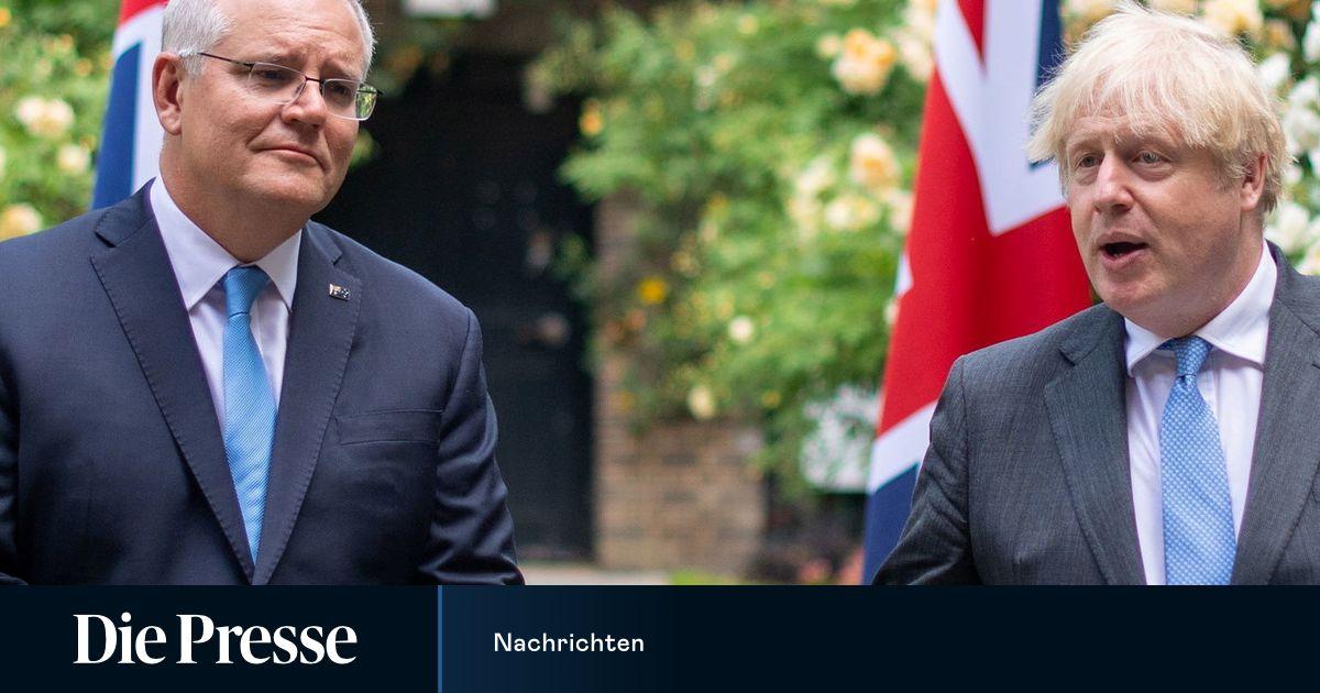 Great Britain and Australia establish free trade agreements