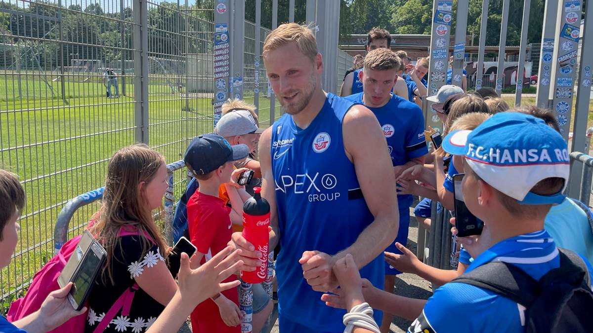 Hanno Berns wants to take responsibility at Hansa – and score goals
