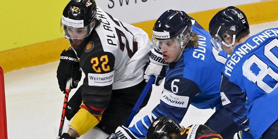 Ice Hockey World Cup: Germany loses semi-finals to Finland