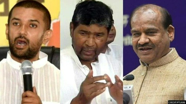 LJP Crocodile: Injured Lion Cub - Babai Pashupati stuns Chirag Paswan on BJP egg