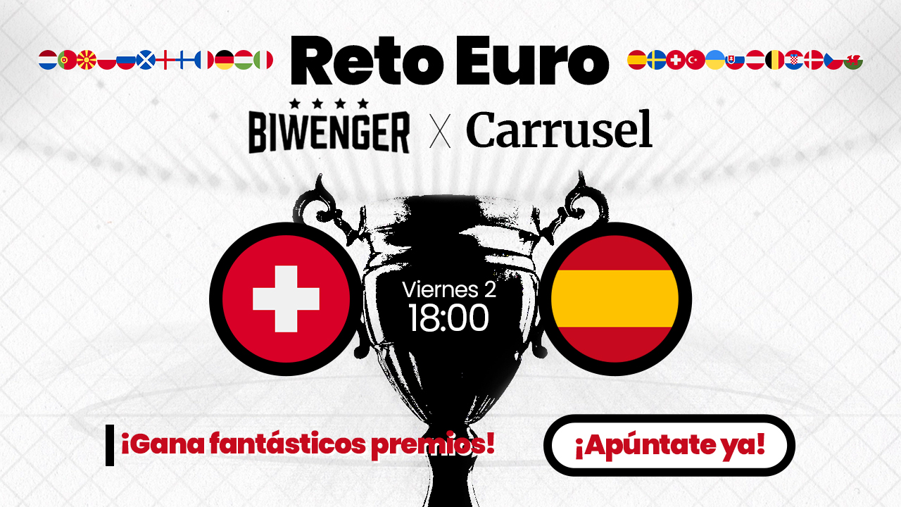 Live broadcast Spain – Switzerland with the best company: Carousel and Biwenger!