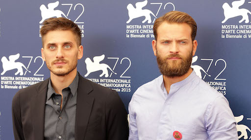 Luca Marinelli and Alessandro Borghi are back together