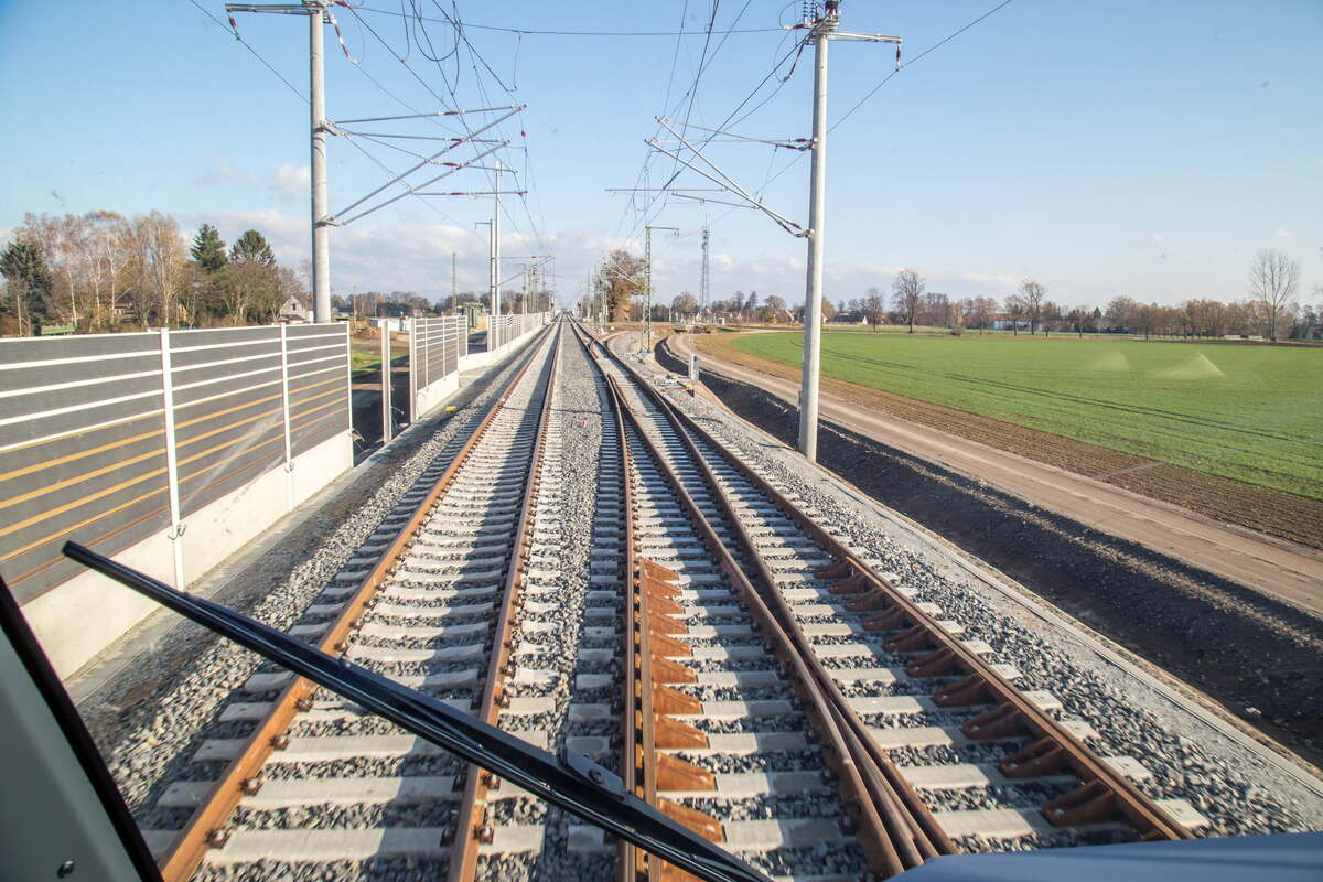 Meißen: an electrified train track instead of the A4 expansion
