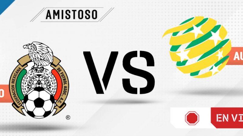 Mexico and Australia, friendly match 2021