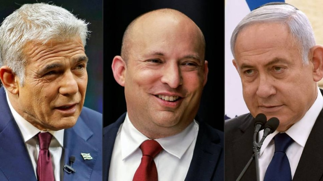 Netanyahu is out.  Opposition parties agree to form a unified government in Israel Israeli opposition leaders agree to form a government