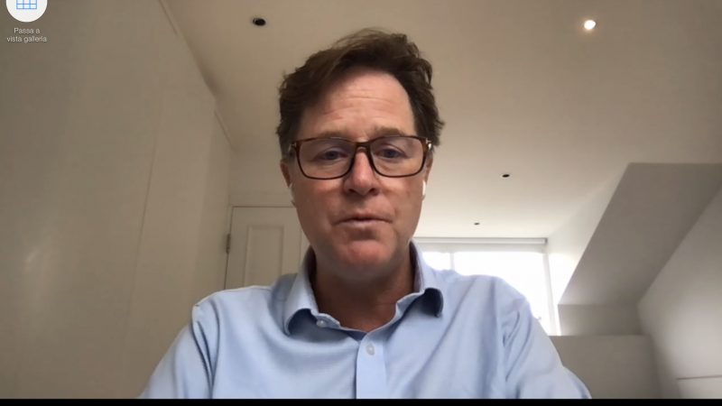 """Nick Clegg, Facebook: """"The EU risks being left behind, but with the US it can change the Internet"""""""