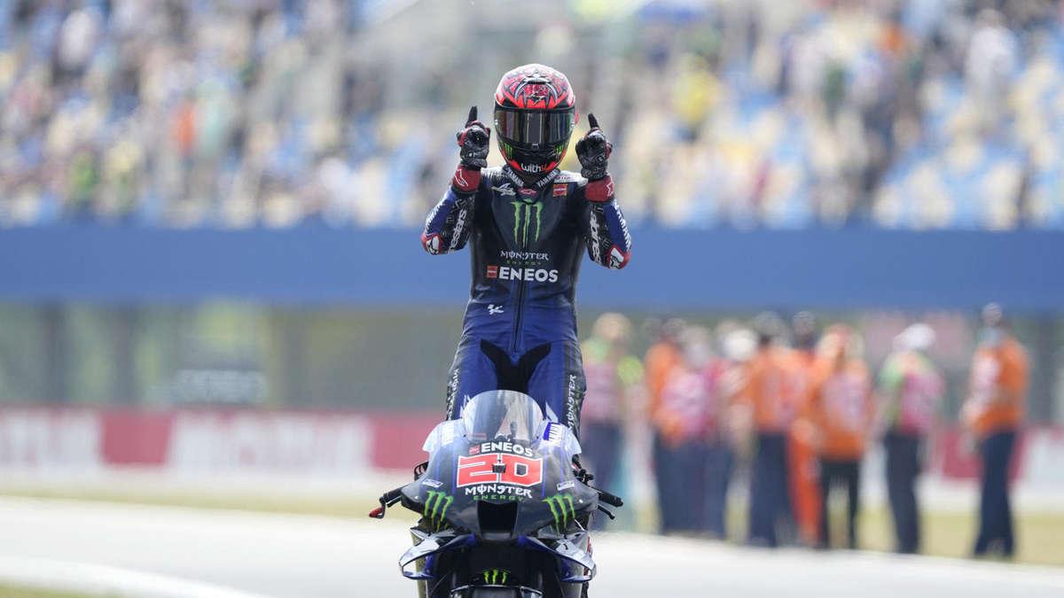 Quartararo wins the Assen |  sports mix