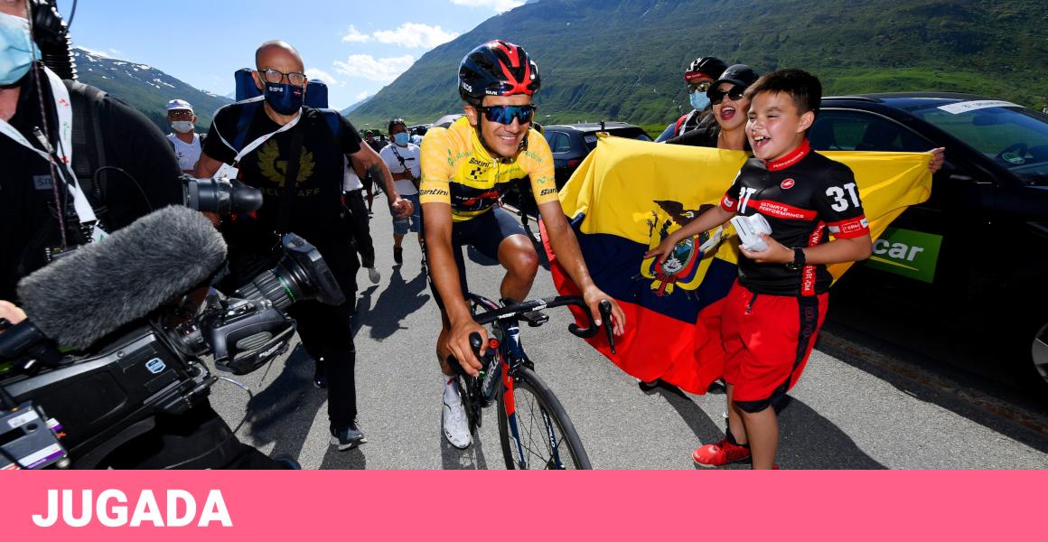 Richard Carapaz of Carche has been declared champion of the Tour de Suisse
