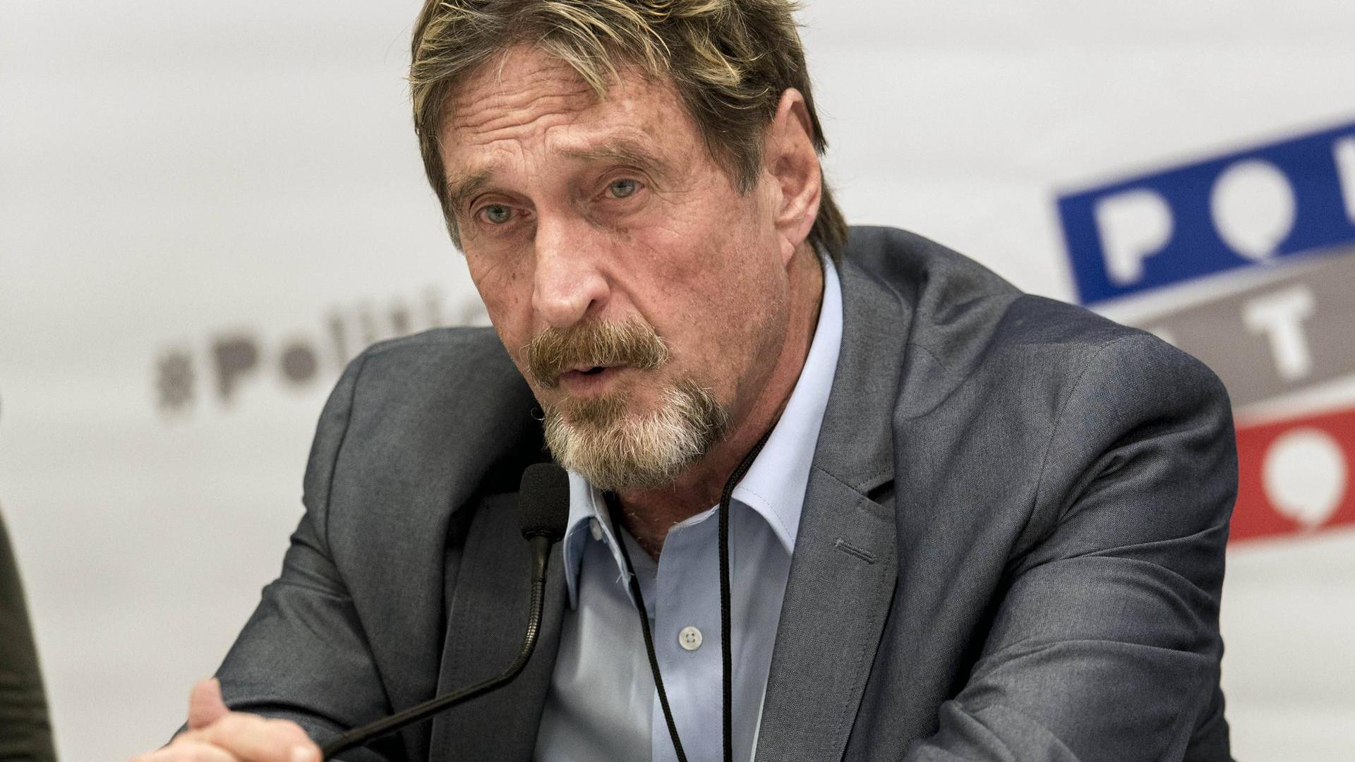 Spain is allowed to extradite John McAfee to the United States
