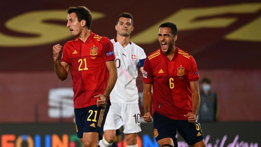 Spain wins thanks to a gift from Switzerland