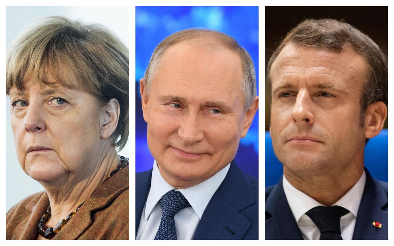 Surprise!  If Merkel and Macron want Putin in Brussels