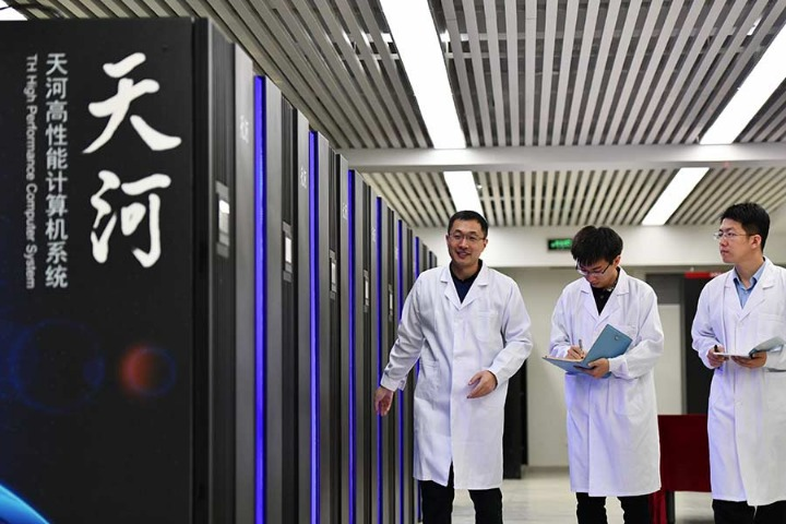 The country is working to increase its research capabilities