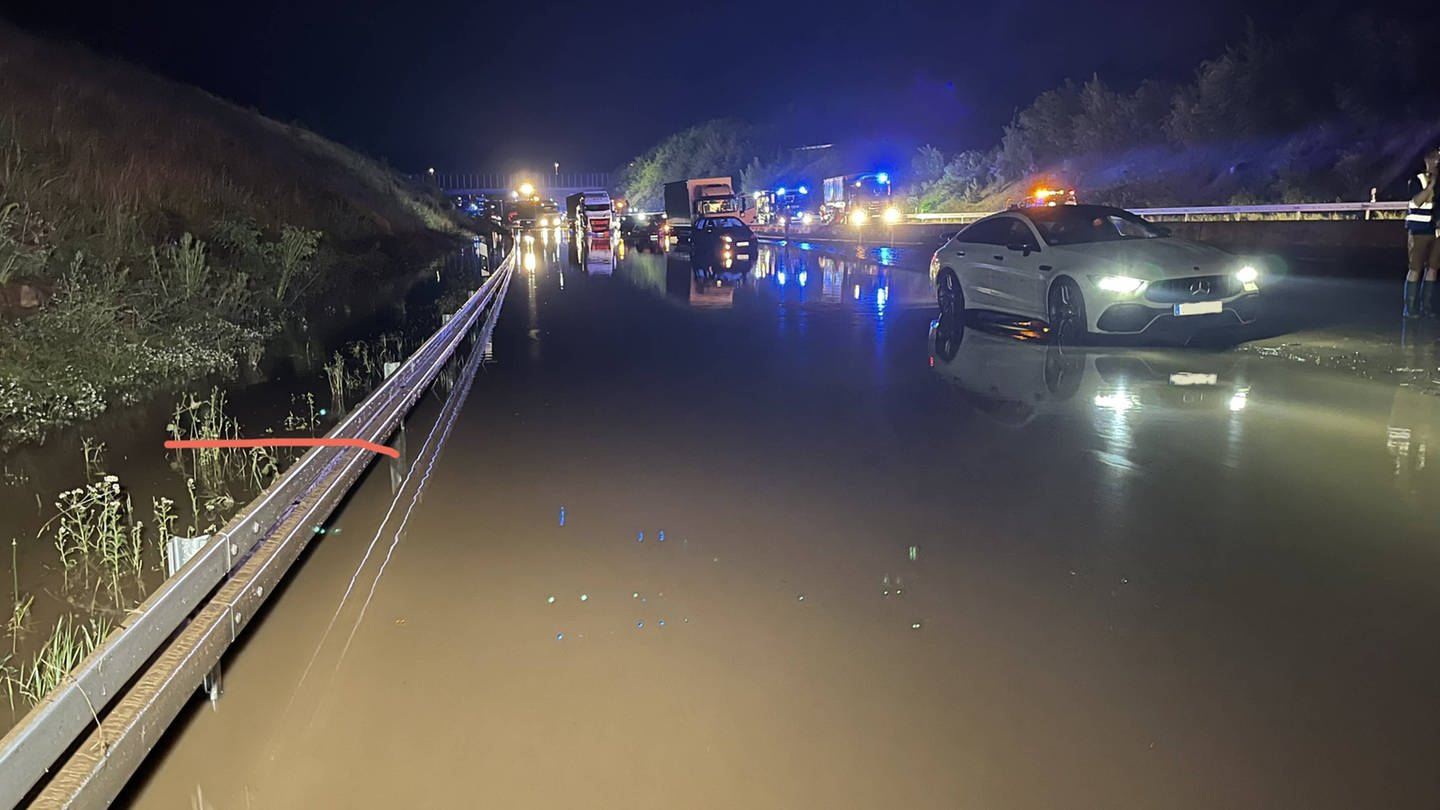 Thunderstorms cause flooding – SWR news