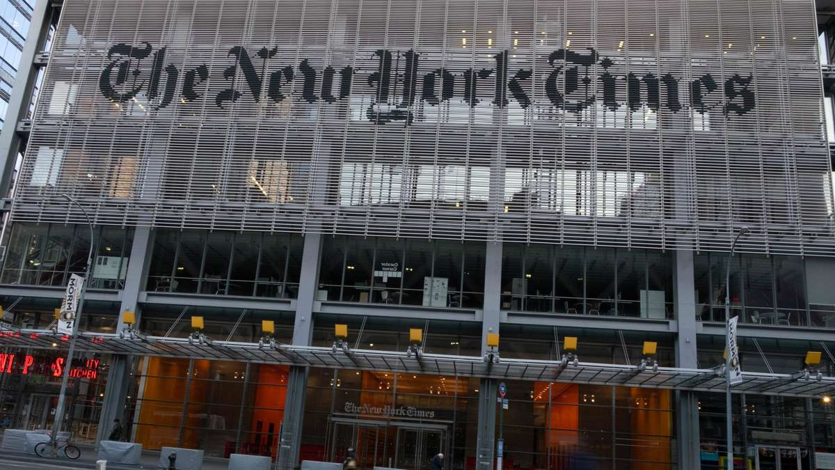 Trump administration spied on New York Times reporters