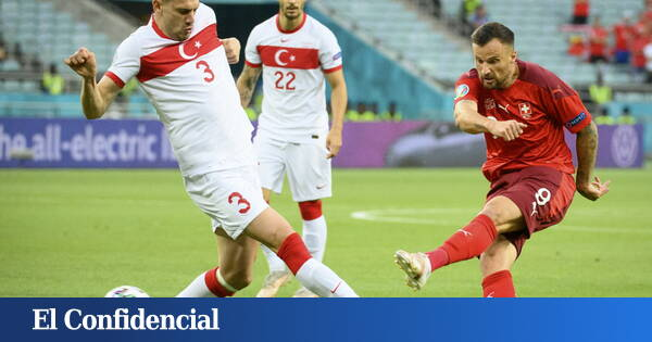 Turkey punctures the balloon of expectations against Switzerland and tracks the fall (3-1)