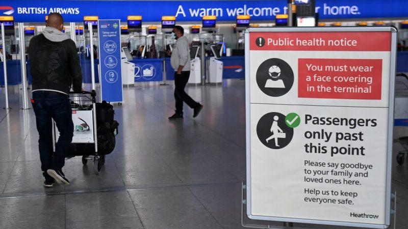 UK review list of international destinations