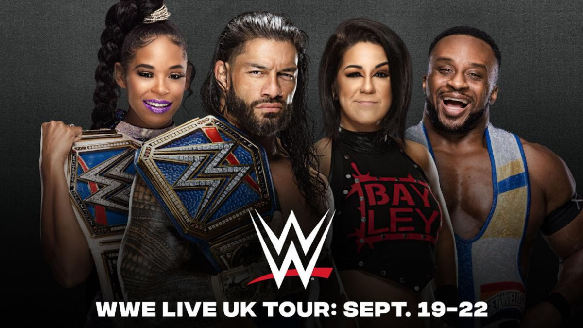WWE will restart its UK shows in September