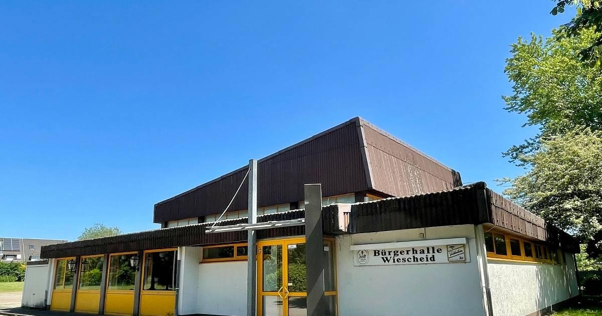 Wiescheider Treff is being built in a former community hall
