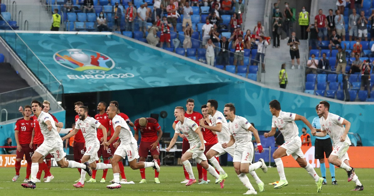Spain defeats Switzerland on penalties and advances to the semi-finals of the Euro