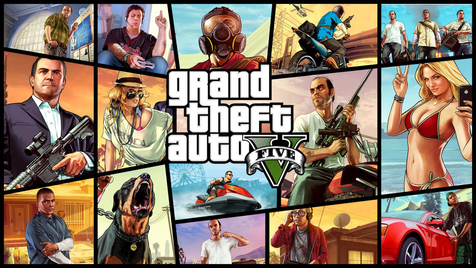 Download Grand Theft Auto 5 game for free Grand theft auto on Android and iPhone devices in 3 minutes