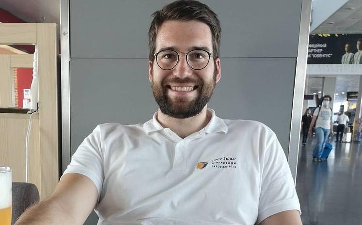 Luca Lutenbach, the Swiss fan who fights for brands
