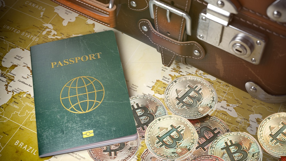 Company Offers Passport to Avoid Paying Taxes on Bitcoin Earnings