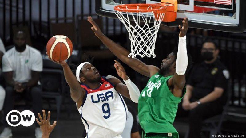 Nigeria, a very American basketball team    Sports    DW