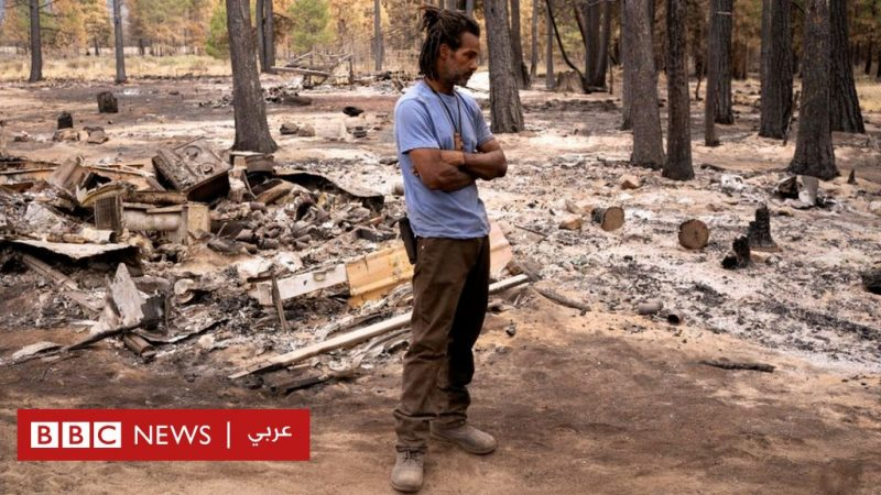 Wildfires: Thousands of Oregon residents evacuated after 300,000 acres burned