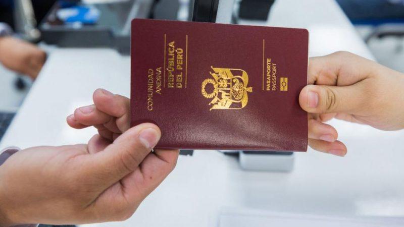 Electronic passport: visa-free travel to these countries    passport    visa    Tourism    Business trips    Peru