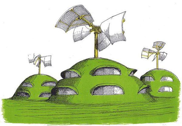 Breathing the Earth - Susumu Shingus Zeichnung