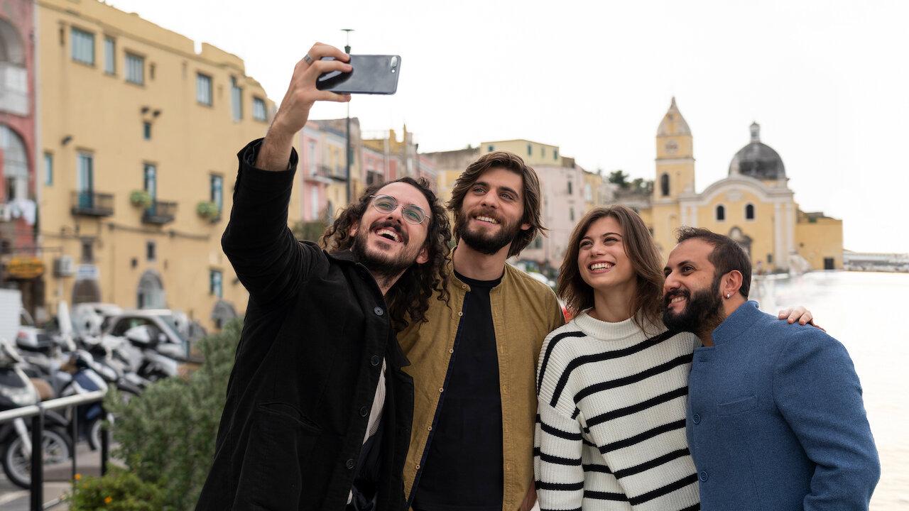 Gianluca Fru, Angelo Spagnoletti, Cristina Capelli and Fabio Balsamo