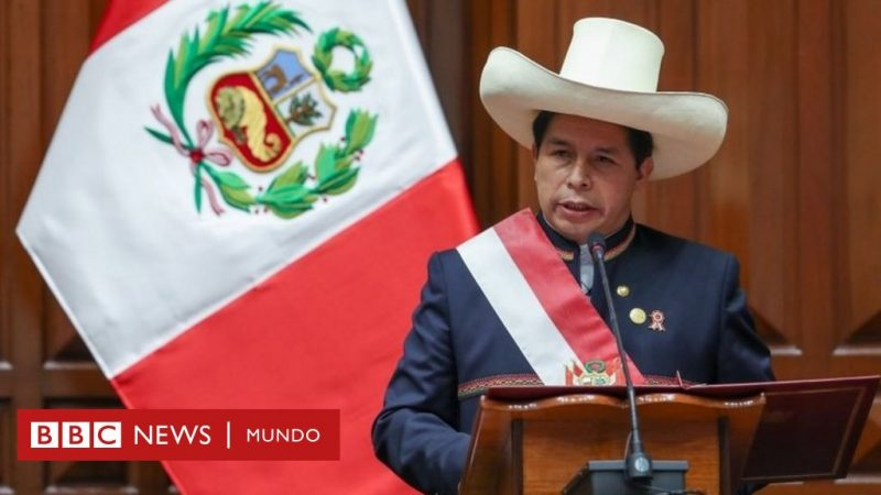 Pedro Castillo: 5 key messages from his inauguration speech as President of Peru