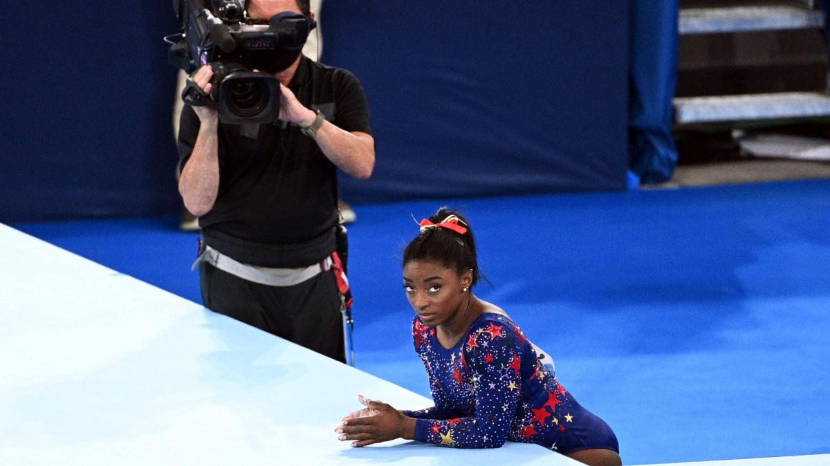 Gymnastics: When the head paralyzes the body: this is what a sports psychologist says about the decline of Biles