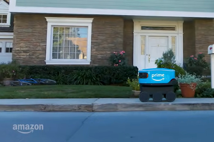Amazon develops self-driving delivery robots in Finland