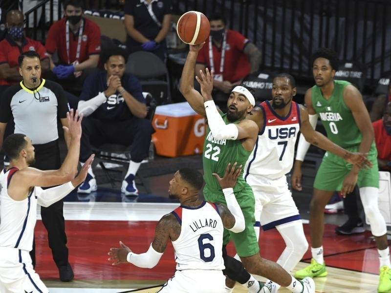 American basketball players suddenly lose to Nigeria |  free press
