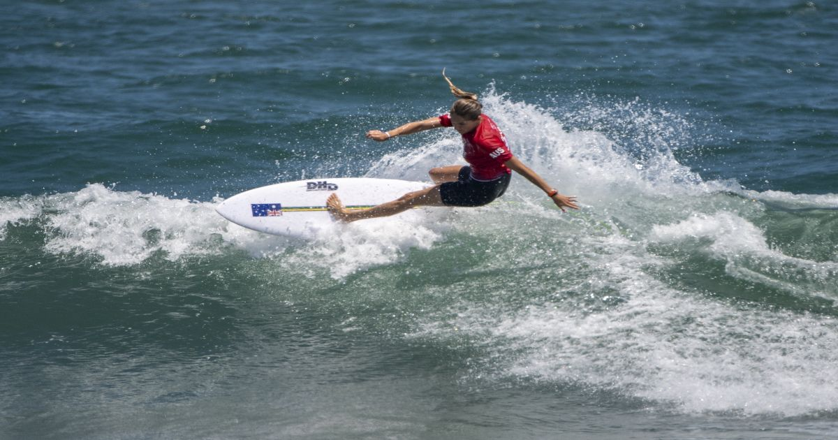 Australia forgets gold in surfing