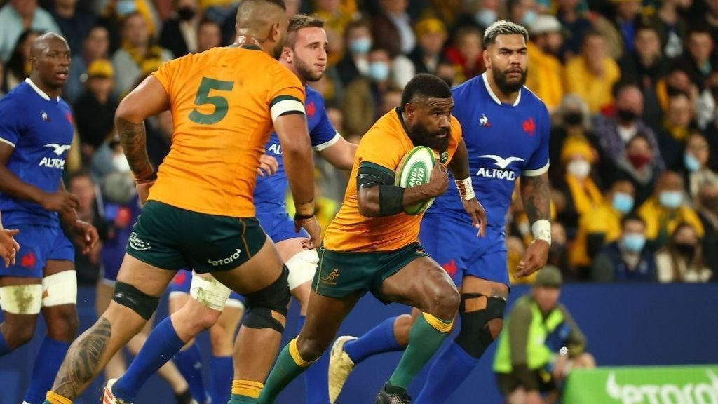 Australia recovered and won a great match against France 23-21