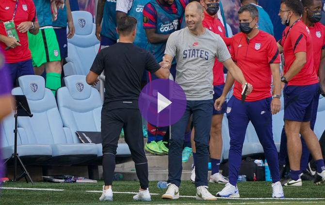 Berhalter admits that the USA did not play well against Canada