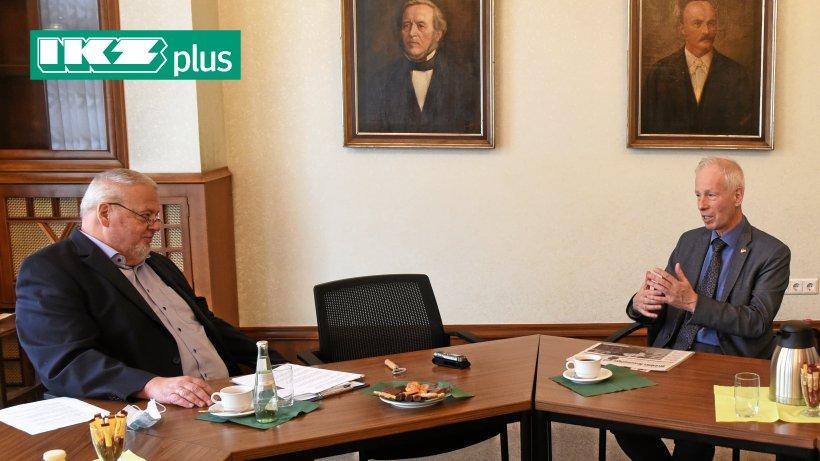 Canadian Ambassador Stephen Dion visits Iserlohn