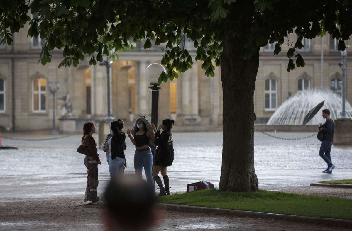 Continuous rain in the Stuttgart region: the Deep Bernd is already raising it – Stuttgart