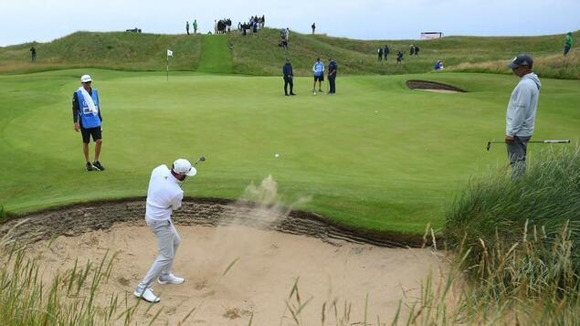 Deep sand, tall grass, gale-force winds: The British Open golf tournament beckons for great views – sport