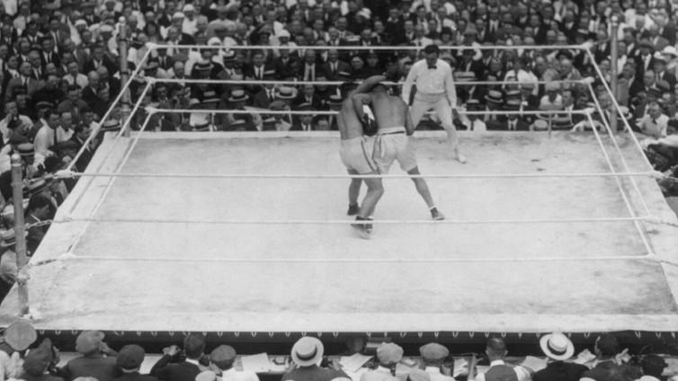 Dempsey vs Carpenter 100 years ago