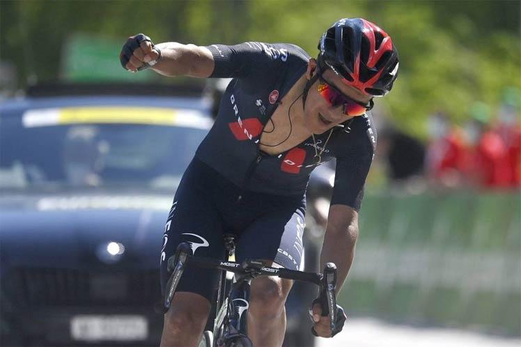 Ecuadorean cyclist Cabaraz announced the Swiss Cycling Champion
