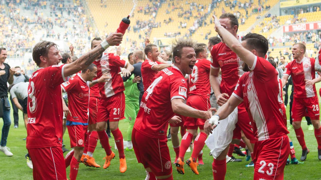 Fortuna Dusseldorf: 13,652 kilometers to climb!  – 2 Bundesliga
