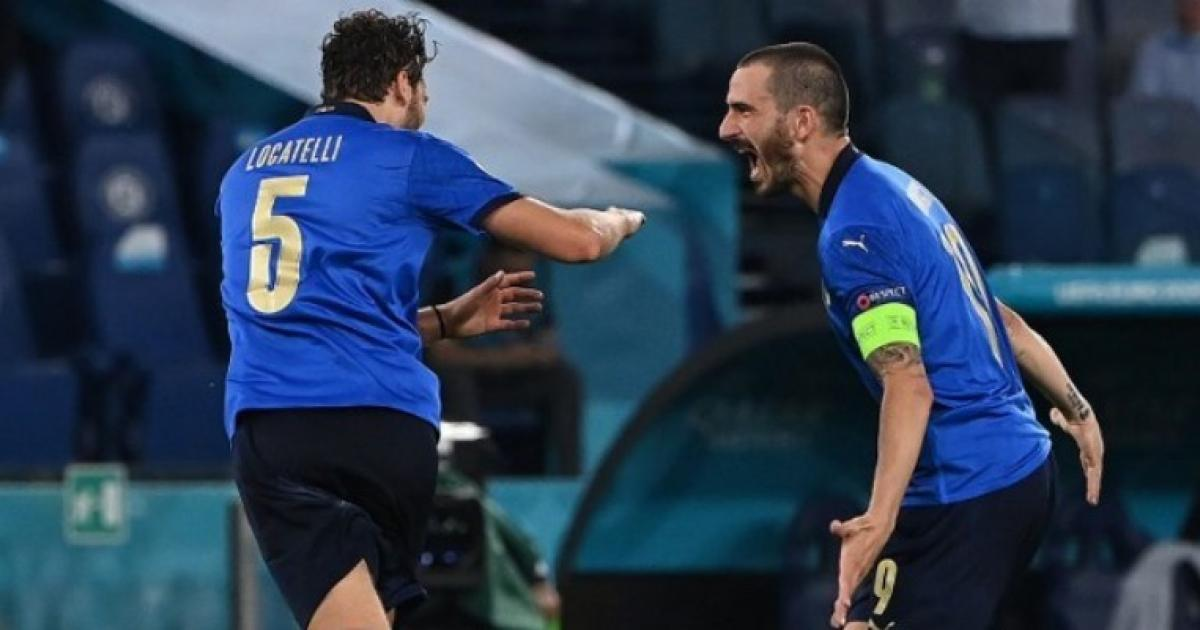 Italy beat Switzerland and went to the second round of the European Cup