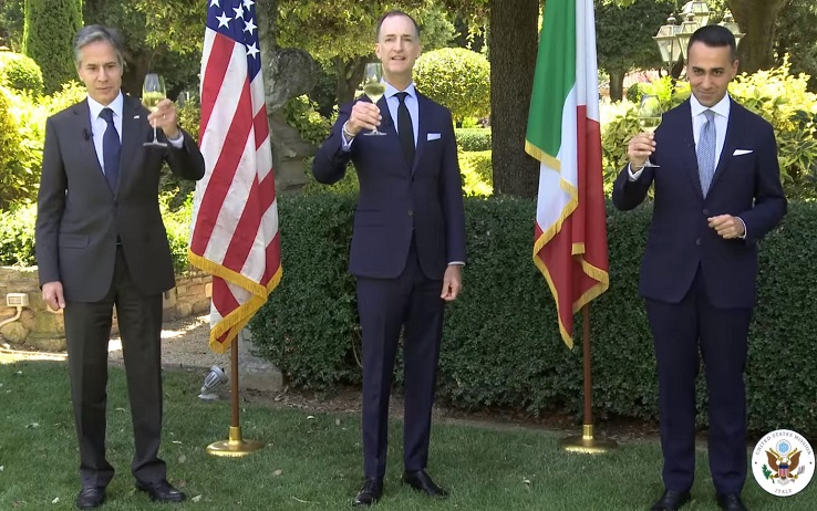 """July 4, Di Maio elects with Blinken: """"The Italian-American Alliance on Values and Profitable Exchanges"""""""