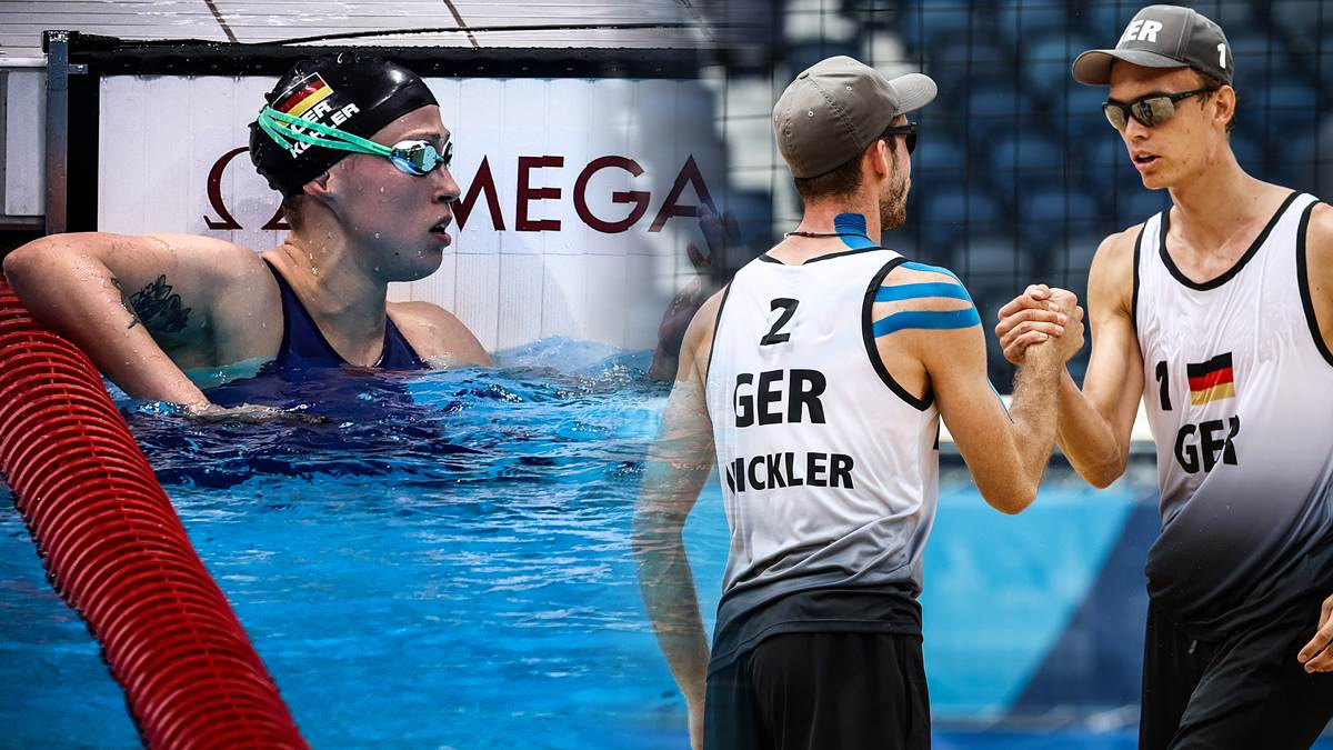 Kohler missed a medal, beach volleyball duo in the past 16: This is how Olympic night went from a German perspective