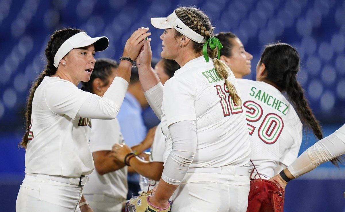 Mexico defeats Australia and seeks bronze in softball